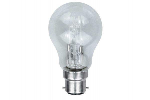 Energizer Lighting GLS Halogen Bulb 33 Watt (40 Watt) BC/B22 Bayonet Cap Box of 1