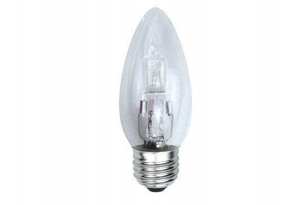 Energizer Lighting Candle Halogen 33 Watt (40 Watt) ES/E27 Edison Screw Box of 1