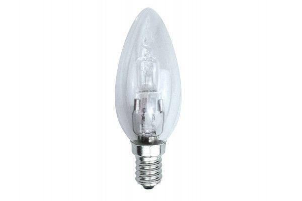 Energizer Lighting Candle Halogen 33 Watt (40 Watt) SES/E14 Small Edison Screw Box of 1