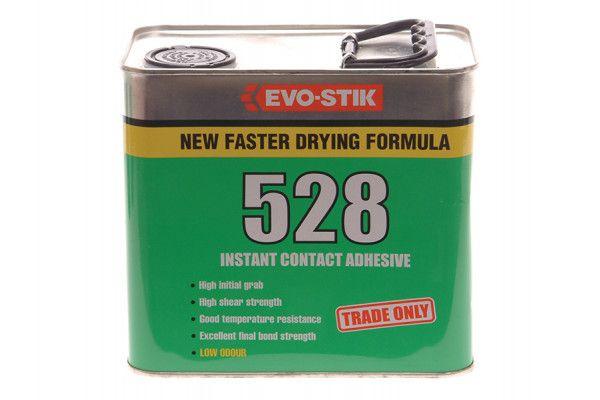 Evo-Stik 528 Instant Contact Adhesive 2.5 Litre