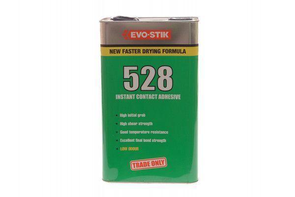 Evo-Stik 528 Instant Contact Adhesive 5 Litre
