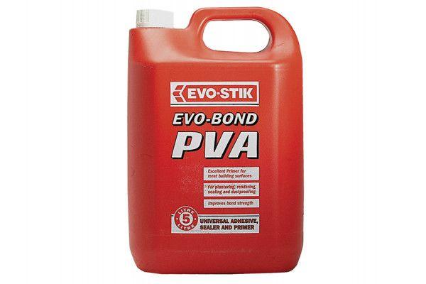 Evo-Stik Evo Bond PVA Universal Adhesive 5 Litre