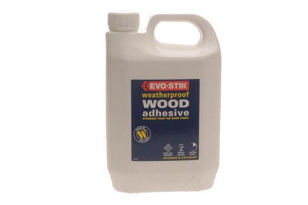 Evo-Stik 715813 Resin W Wood Adhesive 2.5 Litre