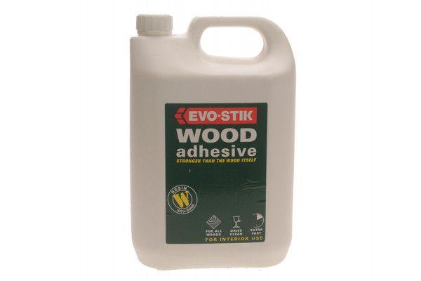 Evo-Stik 715912 Resin W Wood Adhesive 5 Litre