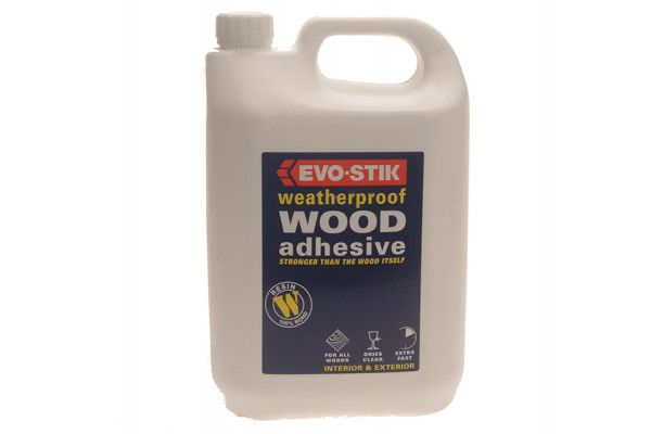 Evo-Stik 718418 Weatherproof Wood Adhesive 5 Litre