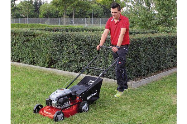Einhell GC-PM 46/3 S Self Propelled Lawnmower 46cm Petrol 135cc 4 Stroke