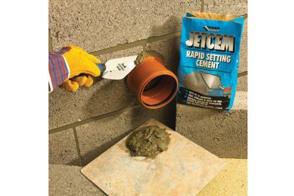 Everbuild Rapid Set Cement 12kg (4 x 3kg Packs)