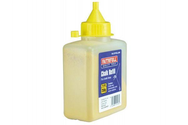 Faithfull Chalk Powder 250g - Yellow