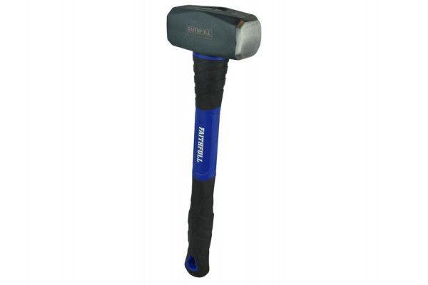 Faithfull Club Hammer Long Shaft Fibreglass Handle 1.81kg (4lb)