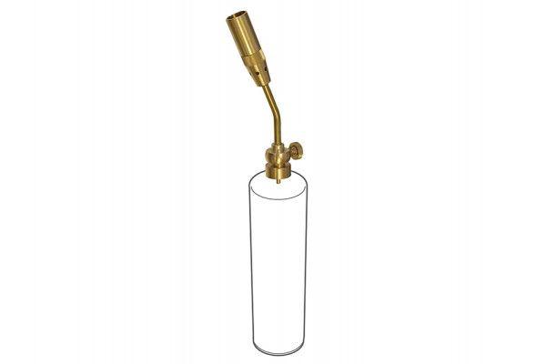 Faithfull Power Torch Solid Brass CGA600
