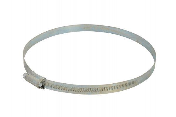 Faithfull 7 Hose Clip - Zinc MSZP 135 - 165mm