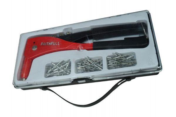 Faithfull Heavy-Duty Riveter Kit