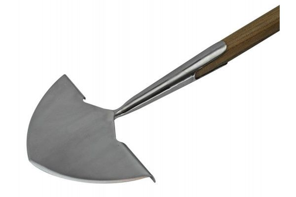 Faithfull Prestige Stainless Steel Edging Iron Ash Handle