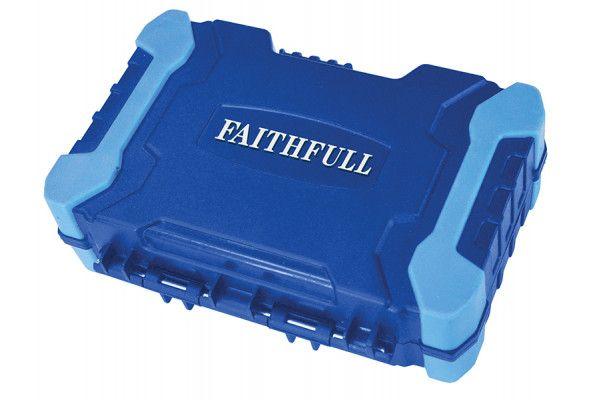 Faithfull Bit Set 27 Piece 25mm 50mm & 125mm Bits
