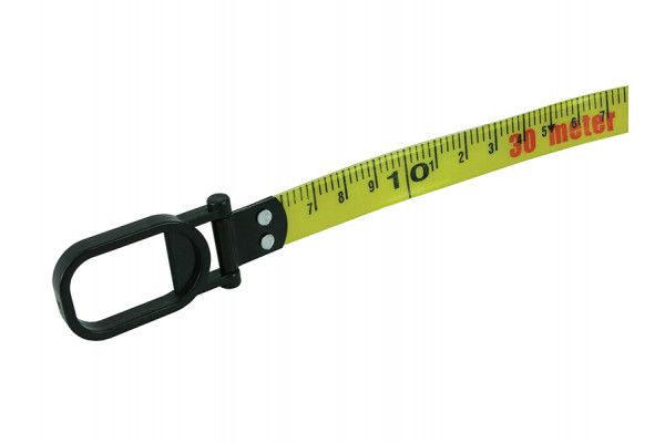 Faithfull Geared Fibreglass Tape 30m/100ft (Width 15mm)