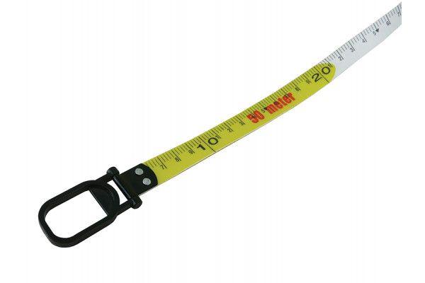 Faithfull Geared Fibreglass Tape 50m/165ft (Width 15mm)