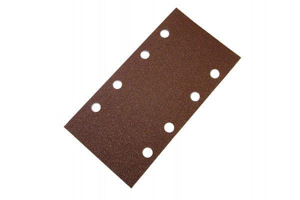 Faithfull 1/3 Sanding Sheet Red Bosch Hook & Loop Assorted (Pack of 5)
