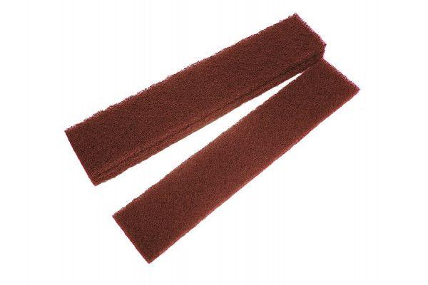 Faithfull Abrasive Plumb Strips Maroon Assorted 50 x 250mm (6)