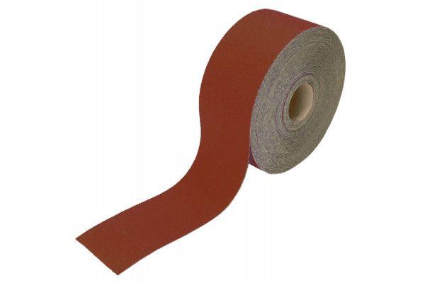 Faithfull, 115mm Red Aluminium Oxide Paper Rolls