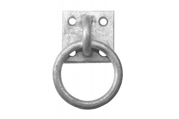 Faithfull Ring On Plate - Galvanised