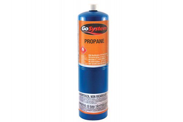 Faithfull Propane Gas Cylinder CGA600 Fitting