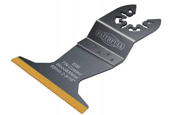 Faithfull, Flush Cut Bi-Metal TiN Coated Blades