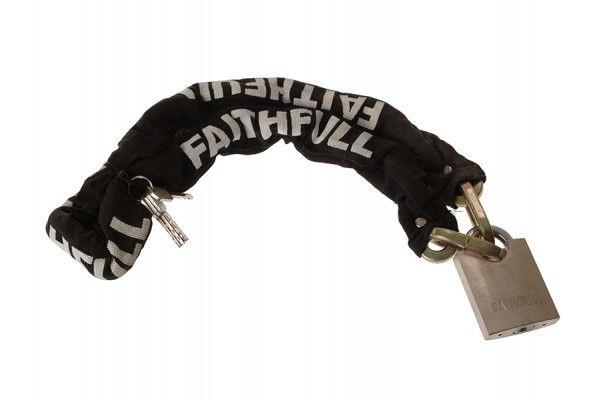 Faithfull Padlock & Chain 1m x 9.5mm