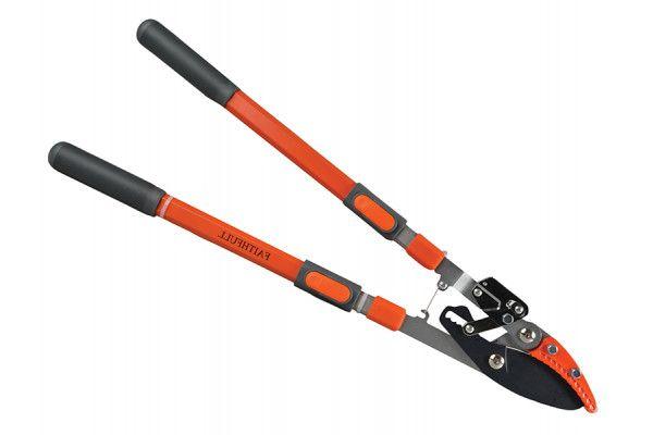 Faithfull Samurai Anvil Curved Blade Ratcheting Lopper 700-1000mm
