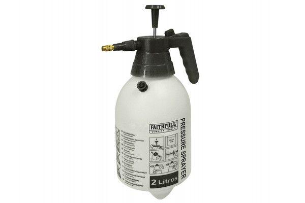 Faithfull Hand Held Pressure Sprayer 2 Litre