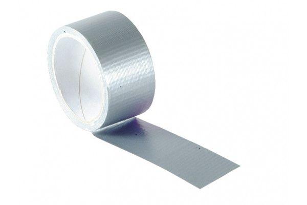 Faithfull Power Stik Waterproof Tape 50mm x 10m Silver