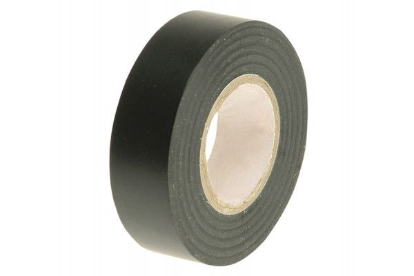 Faithfull PVC Electrical Tape Black 19mm x 20m