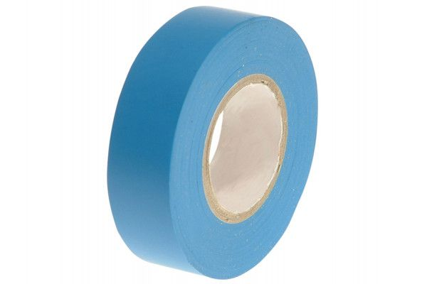 Faithfull PVC Electrical Tape Blue 19mm x 20m