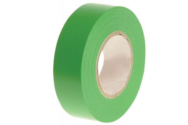 Faithfull PVC Electrical Tape Green 19mm x 20m
