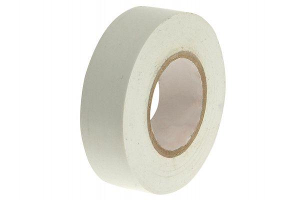 Faithfull PVC Electrical Tape White 19mm x 20m