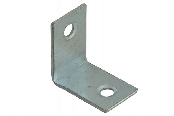 Forge Corner Braces Zinc Plated 25mm Pack of 10