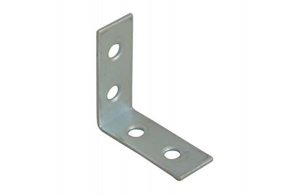 Forge Corner Braces Zinc Plated 40mm Pack of 10