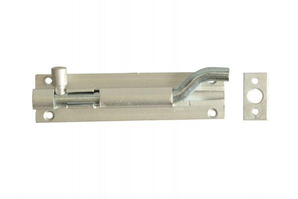 Forge Door Bolt Necked - Aluminium 100mm (4in)
