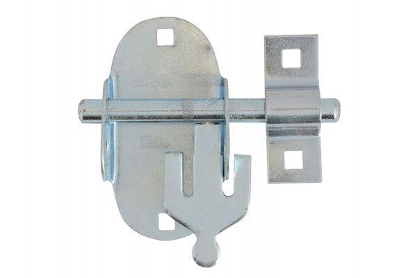 Forge Oval Padbolt - Zinc Plated