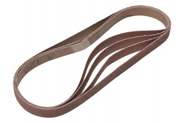 Flexovit Powerfile Sanding Belt 454mm x 13mm Fine 120g (Pack of 4)
