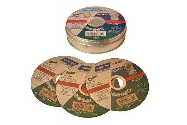 Flexovit Multi-Purpose Cutting Discs 115 x 22mm (Pack of 10)