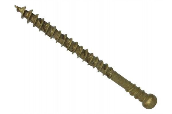 Forgefix Reduced Head Torx® Compatible Decking Screws Tan 4.5x50mm Tub 600
