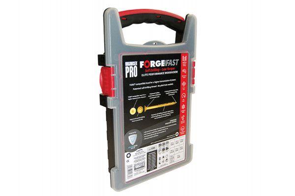 Forgefix ForgeFast Torx® Compatible Wood Screw Organiser Pro 1000 Piece