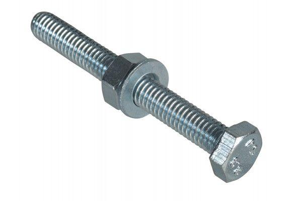 Forgefix High Tensile Set Screw ZP M6 x 50mm Forge Pack 6