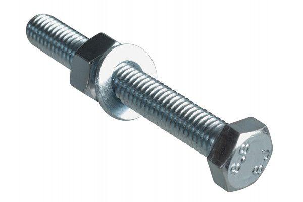 Forgefix High Tensile Set Screw ZP M8 x 60mm Forge Pack 4