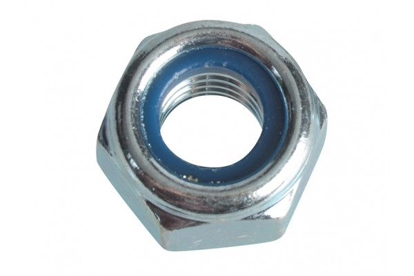 Forgefix Nyloc Nuts & Washers Zinc Plated M10 Forge Pack 8
