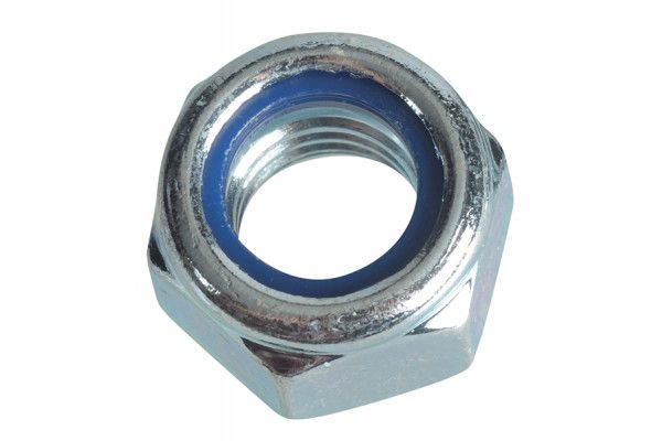 Forgefix Nyloc Nuts & Washers Zinc Plated M12 Forge Pack 6