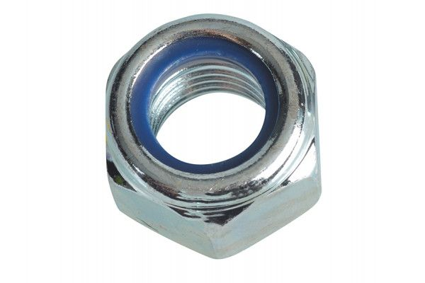 Forgefix Nyloc Nuts & Washers Zinc Plated M16 Forge Pack 4