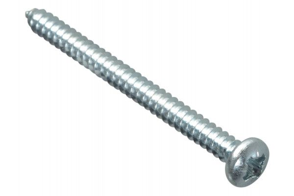 Forgefix Self-Tapping Screw Pozi Pan Head ZP 2in x 8 Forge Pack 12