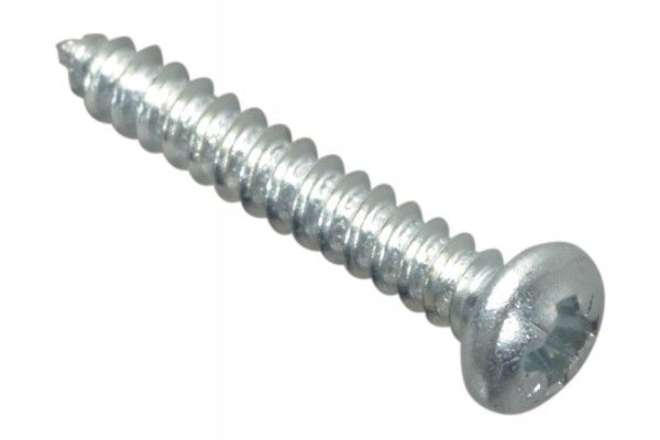 Forgefix Self-Tapping Screw Pozi Pan Head ZP 3/4in x 4 Forge Pack 50