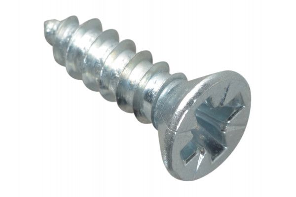 Forgefix Self-Tapping Screw Pozi CSK ZP 1/2in x 6 Forge Pack 40